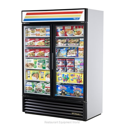 True GDM-49F-LD Freezer Merchandiser