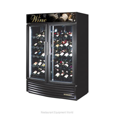 True GDM-49W-RF Wine Merchandiser - 49 cu. ft