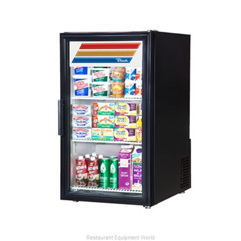 True GDM-6-LD Display Case Refrigerated Countertop