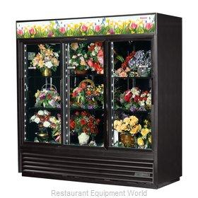 True GDM-69FC-HC-LD Floral Merchandiser