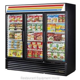 True GDM-72F-HC-LD Freezer, Merchandiser