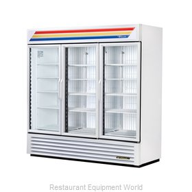 True GDM-72F-LD WHT CVS Freezer, Merchandiser