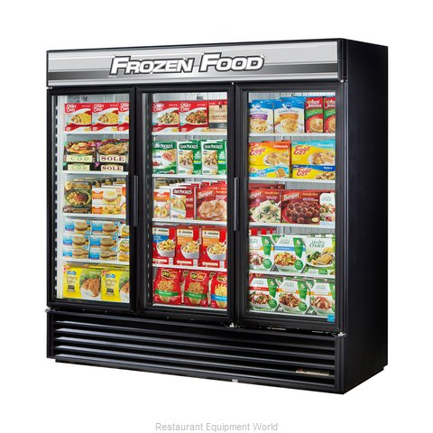 True GDM-72F-LD Freezer Merchandiser