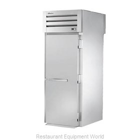 True STA1HRT-1S-1S Roll-Thru Heated Cabinet 1 section