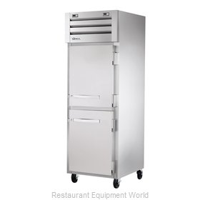 True STG1DT-2HS Reach-In Dual Temp Cabinet self-contained