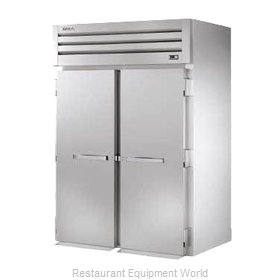 True STG2HRT-2S-2S Roll-Thru Heated Cabinet 2 section