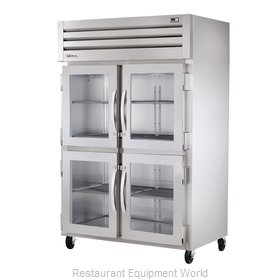 True STG2R-4HG Reach-in Refrigerator 2 sections