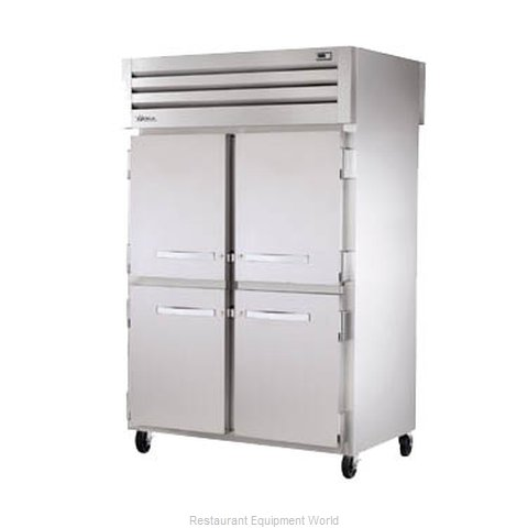True STG2RPT-4HS-4HS Pass-Thru Refrigerator 2 sections