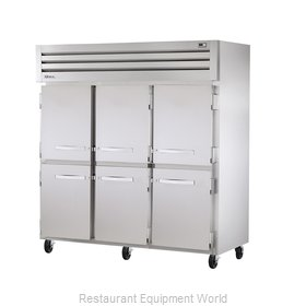 True STG3R-6HS Reach-in Refrigerator 3 sections