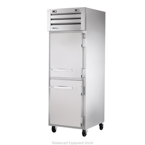 True STR1DT-2HS Reach-In Dual Temp Cabinet self-contained