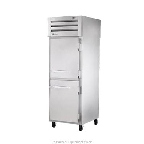 True STR1HPT-2HS-2HS Pass-Thru Heated Cabinet 1 section
