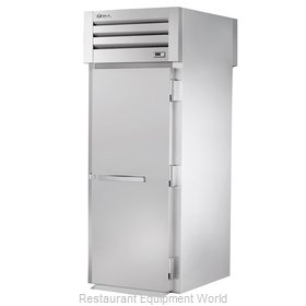 True STR1HRT-1S-1S Roll-Thru Heated Cabinet 1 section