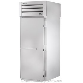 True STR1HRT89-1S-1S Heated Cabinet, Roll-Thru