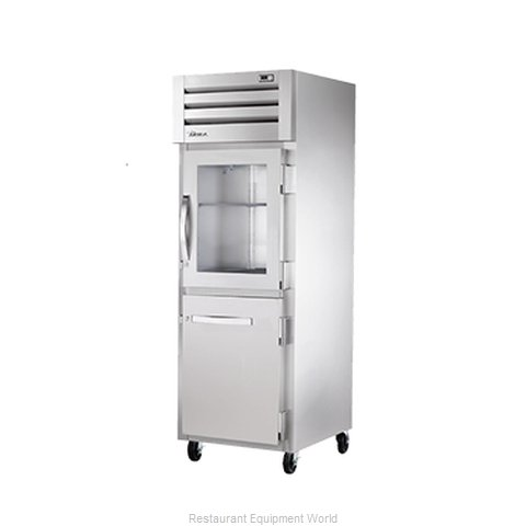 True STR1R-1HG/1HS Refrigerator, Reach-In