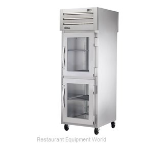 True STR1RPT-2HG-1S Pass-Thru Refrigerator 1 section