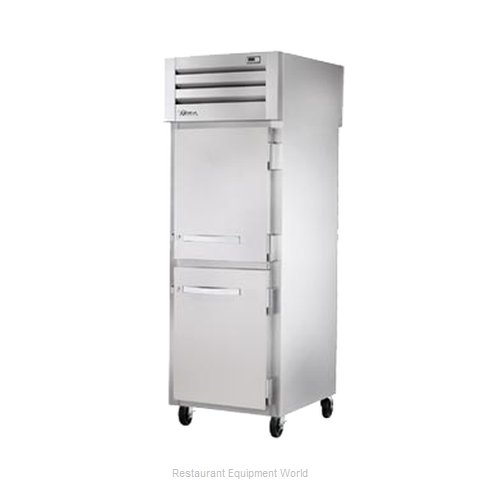 True STR1RPT-2HS-2HS Pass-Thru Refrigerator 1 section