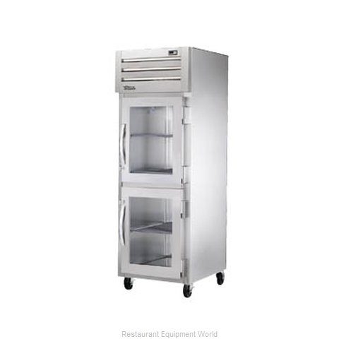 True STR1RVLD-2HG Reach-in Refrigerator 1 section (Magnified)