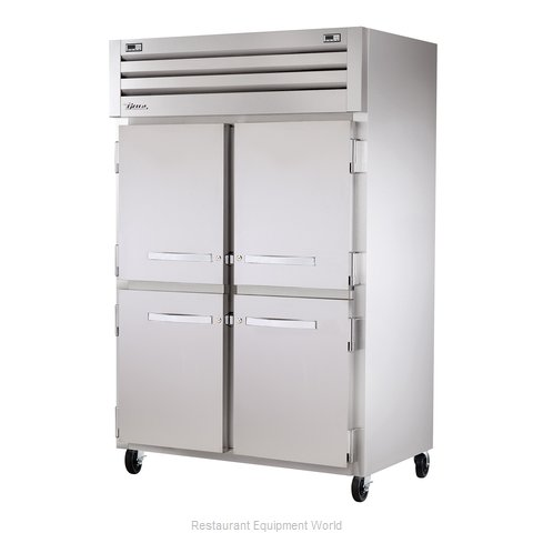 True STR2DT-4HS Reach-In Dual Temp Cabinet self-contained