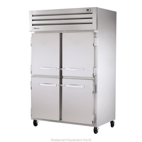 True STR2R-4HS Reach-in Refrigerator 2 sections
