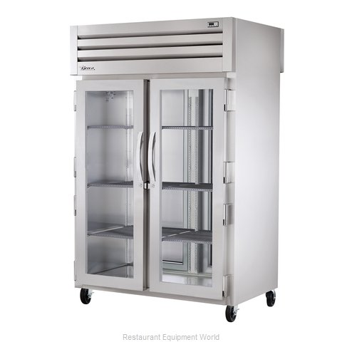 True STR2RPT-2G-2S Pass-Thru Refrigerator 2 sections