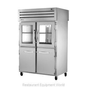 True STR2RPT-2HG/2HS-2G-HC Refrigerator, Pass-Thru
