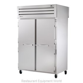 True STR2RPT-2S-2G Pass-Thru Refrigerator 2 sections