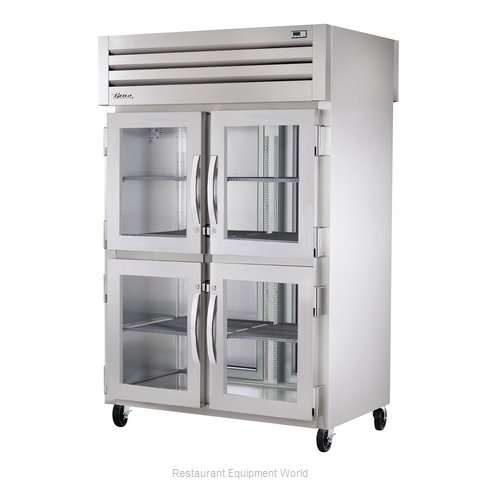 True STR2RPT-4HG-2S Pass-Thru Refrigerator 2 sections