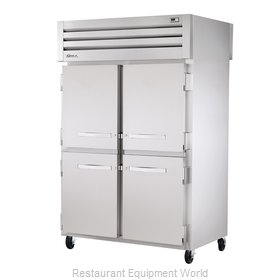 True STR2RPT-4HS-2G Pass-Thru Refrigerator 2 sections