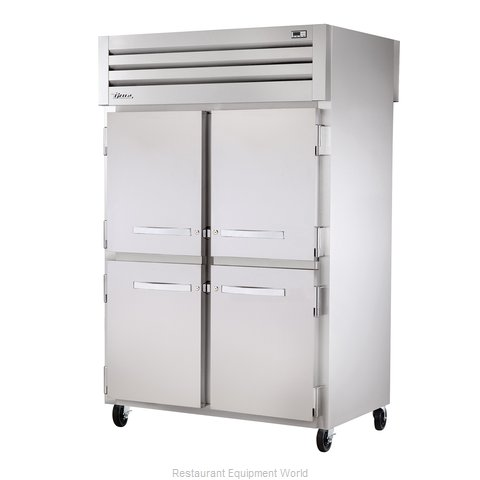 True STR2RPT-4HS-2S Pass-Thru Refrigerator 2 sections