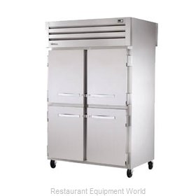 True STR2RPT-4HS-4HS Pass-Thru Refrigerator 2 sections