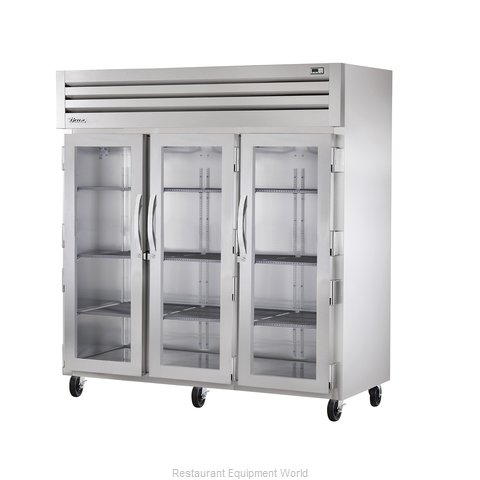 True STR3R-3G Reach-in Refrigerator 3 sections (Magnified)