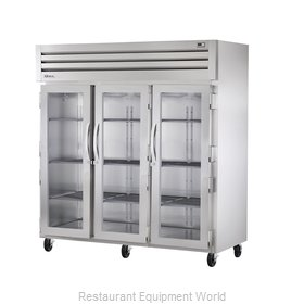 True STR3R-3G Reach-in Refrigerator 3 sections