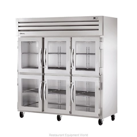 True STR3RVLD-6HG Reach-in Refrigerator 3 sections (Magnified)