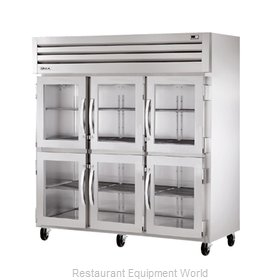 True STR3RVLD-6HG Reach-in Refrigerator 3 sections