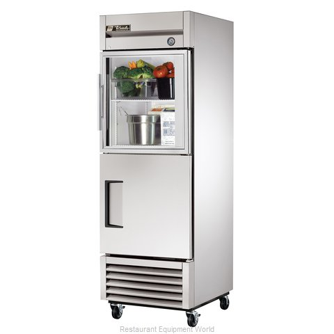 True T-23-1-G-1 Combination Refrigerator (Magnified)