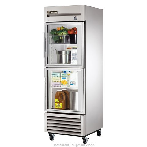 True T-23G-2 Reach-in Refrigerator 1 section