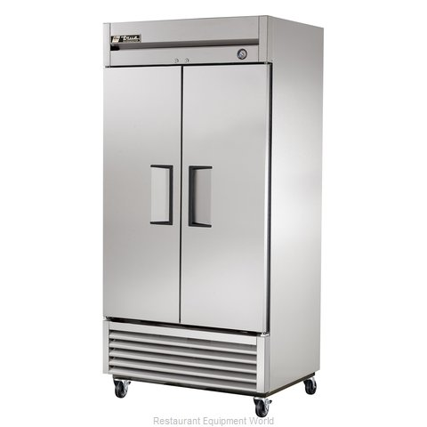 True T-35 Solid Door Refrigerator - 35 cu ft.