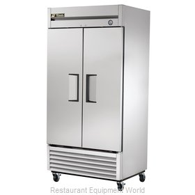 True T-35F 35 Cu Ft Solid Door Reach-In Freezer