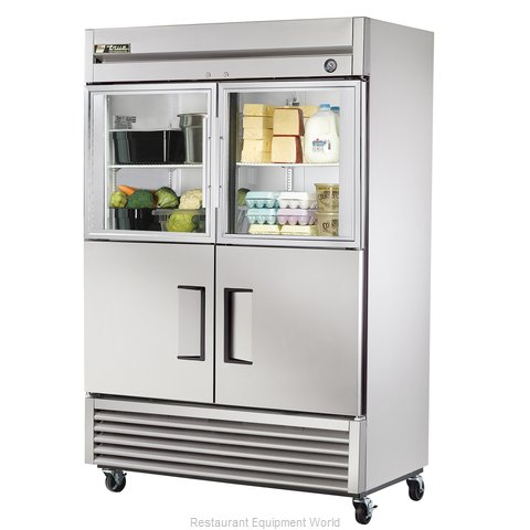 True T-49-2-G-2 Combination Refrigerator (Magnified)