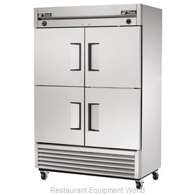 True T-49DT-4 Reach-In Dual Temp Cabinet self-contained