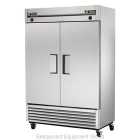 True T-49DT Reach-In Dual Temp Cabinet self-contained