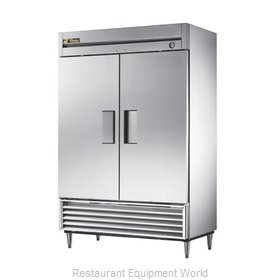 True T-49F-RC Reach-In Freezer, 2 sections