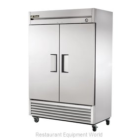 True T-49F 49 Cu Ft Solid Door Reach-In Freezer