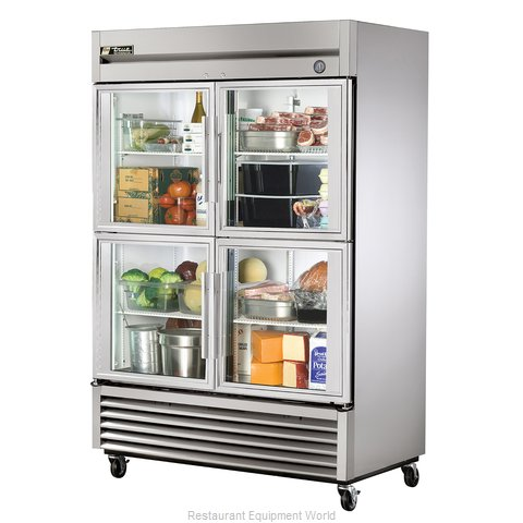 True T-49G-4 Reach-in Refrigerator 2 sections