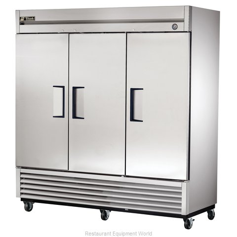 True T-72 Solid Door Refrigerator - 72 cu ft.