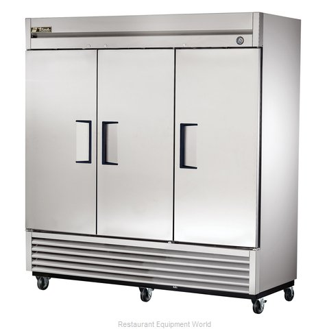 True T-72F 72 Cu Ft Solid Door Reach-In Freezer