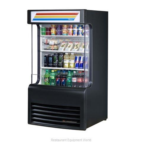 True TAC-14GS-LD Merchandiser, Open