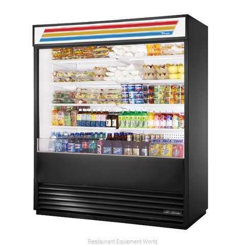 True TAC-72-LD Merchandiser, Open