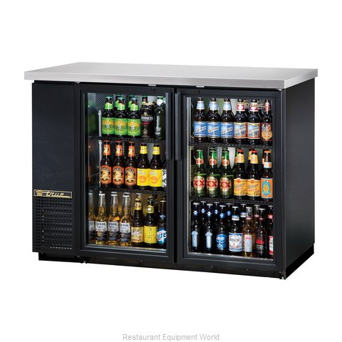True TBB-24-48G-LD Back Bar Cabinet, Refrigerated (Magnified)