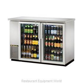 True TBB-24-48G-S-HC-LD Back Bar Cabinet, Refrigerated